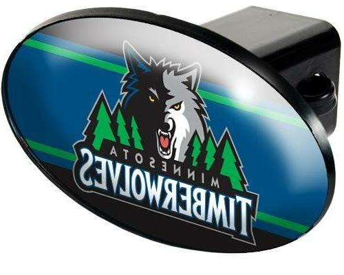 nba minnesota timberwolves tow hitch cover car