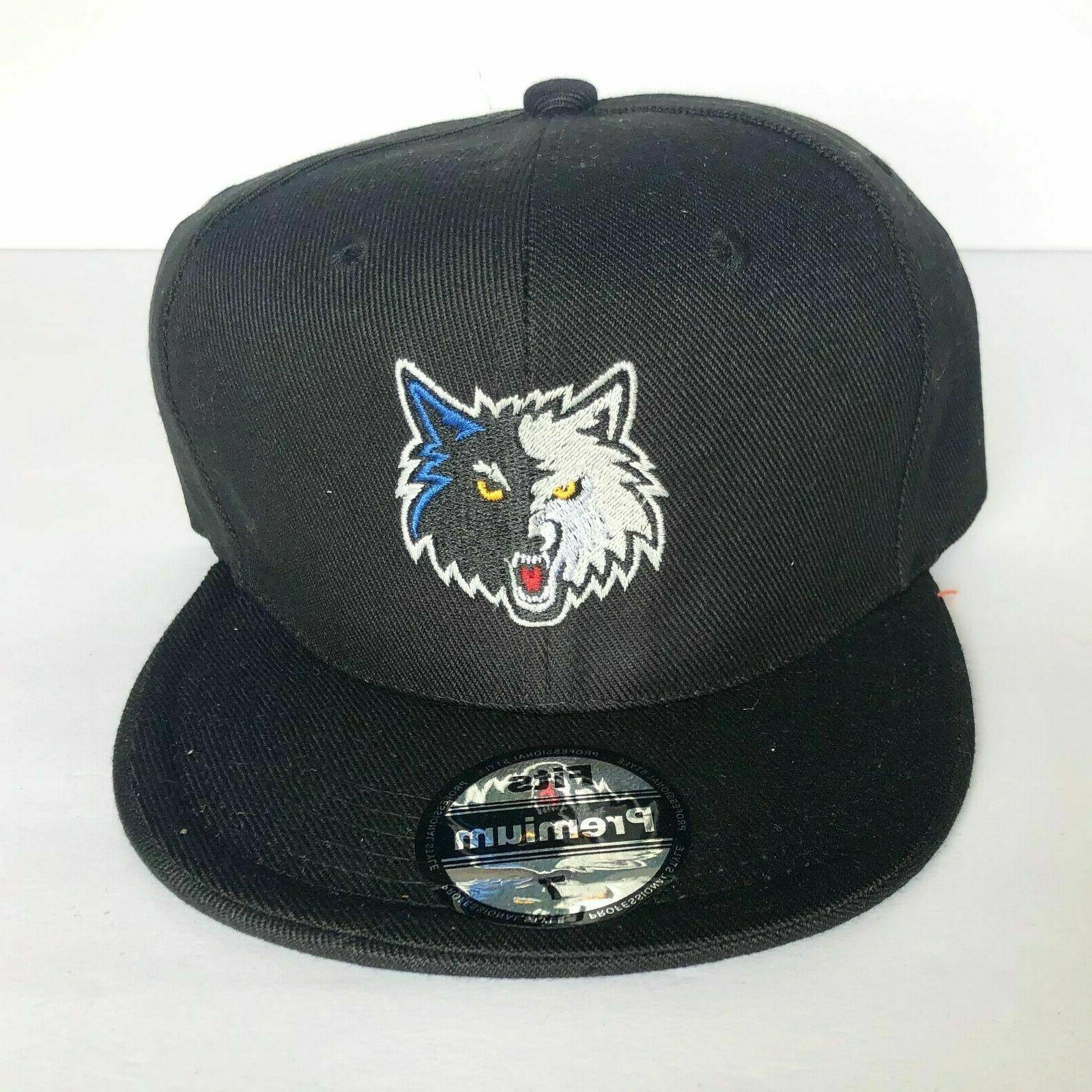 new mens minnesota timberwolves baseball cap fitted