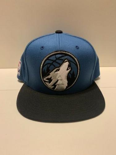 new minnesota timberwolves snapback hat nba mitchell