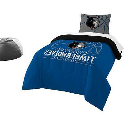 northwest company minnesota timberwolves twin comforter