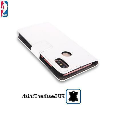 OFFICIAL TIMBERWOLVES LEATHER BOOK CASE FOR XIAOMI