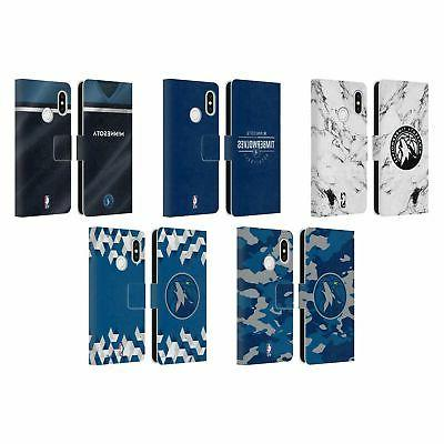 official 2018 19 minnesota timberwolves leather book