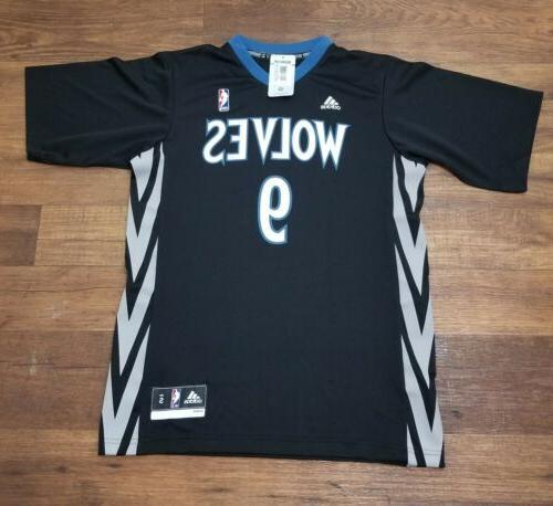 ricky rubio 9 minnesota timberwolves basketball jersey