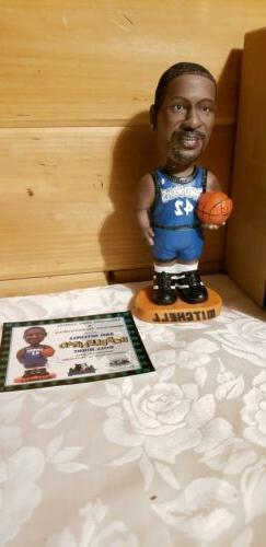 Sam Mitchell NBA Minnesota Timberwolves Bobblehead 1/10/01 T