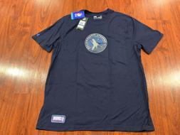 Under Armour Men's Minnesota Timberwolves Combine Logo Jer