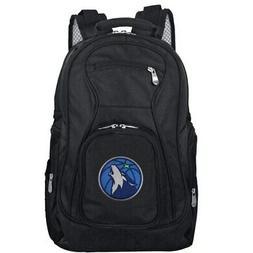 "Minnesota Timberwolves 19"" Laptop Travel Backpack - Black"