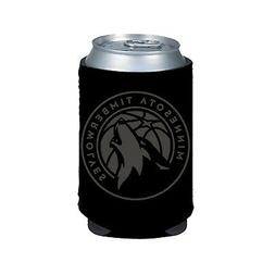 Minnesota Timberwolves 2-Pack BLACK TONAL CAN Koozie Neopren