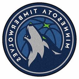 "Minnesota Timberwolves 27"" Roundel Area Rug Floor Mat"