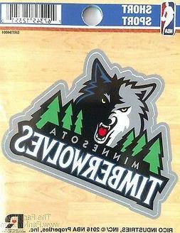 "Minnesota Timberwolves 3"" Vinyl Sport Die Cut Decal Sticker"
