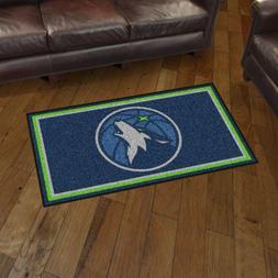 Minnesota Timberwolves 3' X 5' Decorative Ultra Plush Carpet