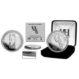 Minnesota Timberwolves Highland Mint 39mm Silver Mint Coin