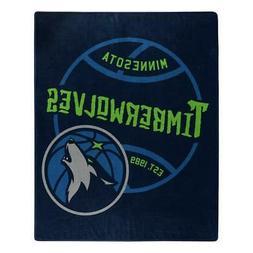 Minnesota Timberwolves 50x60 Blacktop Design Raschel Throw B