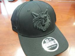Minnesota Timberwolves New Era 9FIFTY Stretch-Snap Hat BLACK