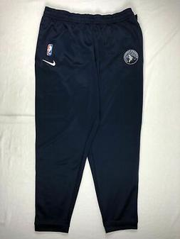 Minnesota Timberwolves Nike Athletic Pants Men's Navy Dri-Fi