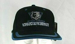 minnesota timberwolves black blue nba baseball cap