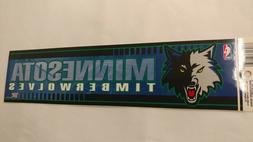 Minnesota Timberwolves Bumper Strip Sticker