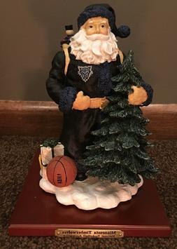 Minnesota Timberwolves Christmas Figurine - NEW in Box - fro