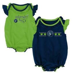 Minnesota Timberwolves Creeper 2 Pack Homecoming Bodysuit Se