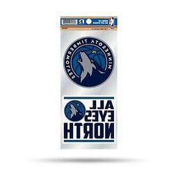 Minnesota Timberwolves Double UP Decal Sticker Auto Home Emb