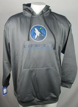 Minnesota Timberwolves NBA Gray Long Sleeved TX3 Warm Pullov