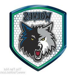 Minnesota Timberwolves Hi-Intensity SHIELD Reflector Emblem