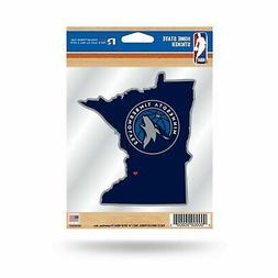 Minnesota Timberwolves Home State Sticker Flat DieCut Decal