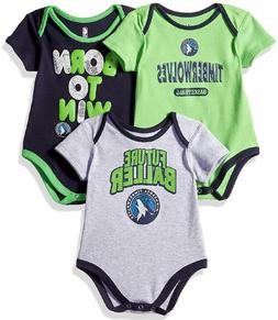 Minnesota Timberwolves Infant & Toddler  Little Fan 3 Pack C