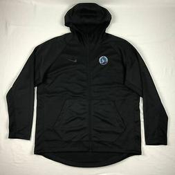 Minnesota Timberwolves Nike Jacket Men's Black Dri-Fit NEW M