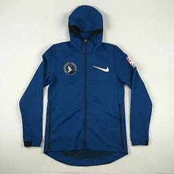 Minnesota Timberwolves Nike Jacket Men's Blue Dri-Fit New Mu