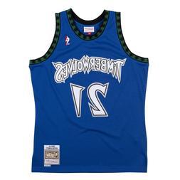 Minnesota Timberwolves Kevin Garnett #21 2003 - 04 Mitchell