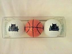 Minnesota Timberwolves Logo Golf Balls set of 2 plus bonus B