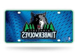 Minnesota Timberwolves Logo NBA 12x6 Auto Metal License Plat