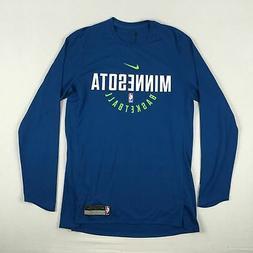 Minnesota Timberwolves Nike Long Sleeve Shirt Men's New Mult