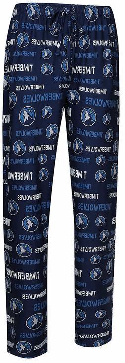 Minnesota Timberwolves Men's Blue Midfield Synthetic Pajam