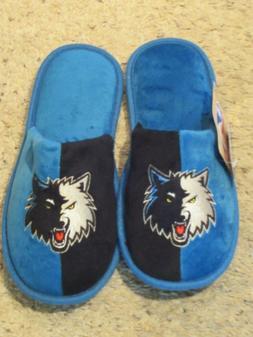 Minnesota Timberwolves Mens Slippers M 9 10