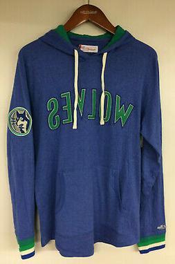 Minnesota Timberwolves Mitchell & Ness NBA Hooded Sweatshirt