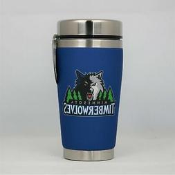 Minnesota Timberwolves Mugzie NBA 16oz Travel Tumbler Coffee