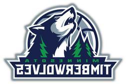 Minnesota Timberwolves NBA Basketball Car Bumper Sticker Dec