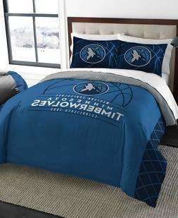 Minnesota Timberwolves NBA Basketball Full Queen Comforter P