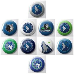 MINNESOTA TIMBERWOLVES - NBA basketball pinback buttons - sp