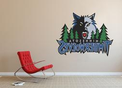 Minnesota Timberwolves NBA Basketball Team Wall Decal Decor