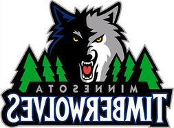 Minnesota Timberwolves NBA Color Die-Cut Decal / Car Sticker