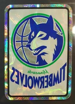 Minnesota Timberwolves NBA Color Logo Sports Decal Sticker-F