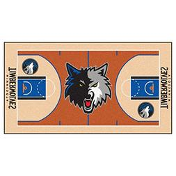 Minnesota Timberwolves NBA Court Runner 24x44