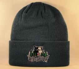 Minnesota Timberwolves NBA Adidas Cuffed Knit Hat Blue