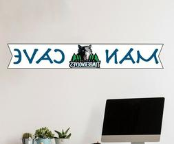 Minnesota Timberwolves NBA Logo Wall Decal Sport Basketball