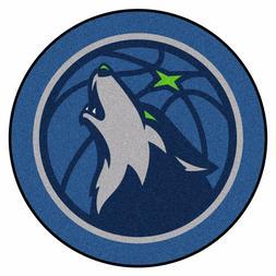 Minnesota Timberwolves NBA Mascot Rug Floor Mat