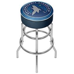 Minnesota Timberwolves NBA Padded Swivel Bar Stool