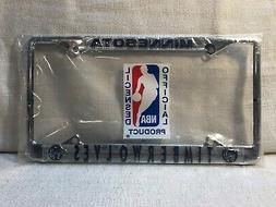Minnesota Timberwolves Official Basketball NBA Metal Logo Li