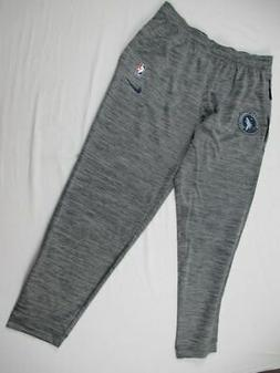 Minnesota Timberwolves Nike Pants Men's Gray Athletic New Mu
